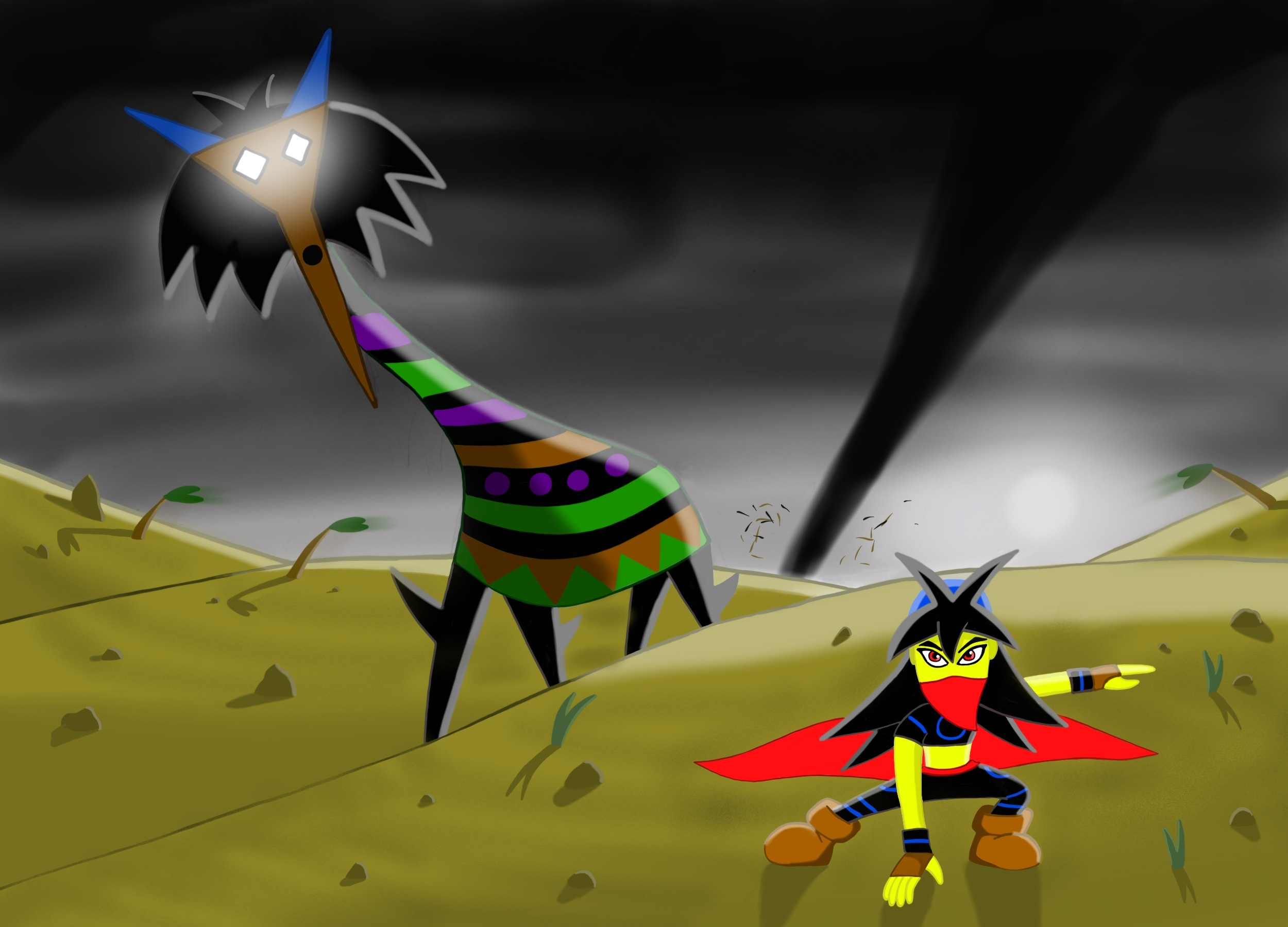 Creature of the Dust Devil