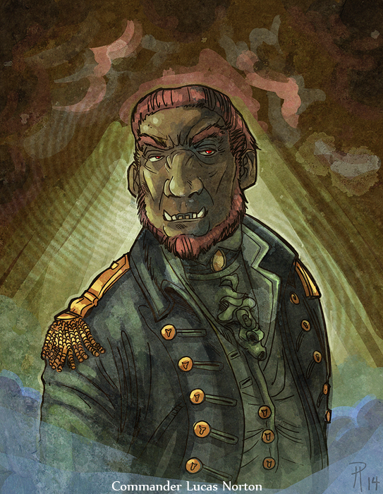 Commander Lucas Norton