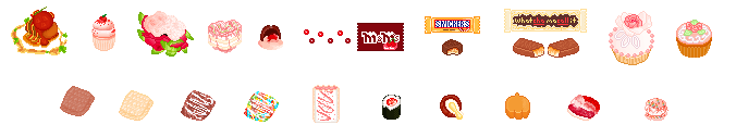 some of my pixel food part 2
