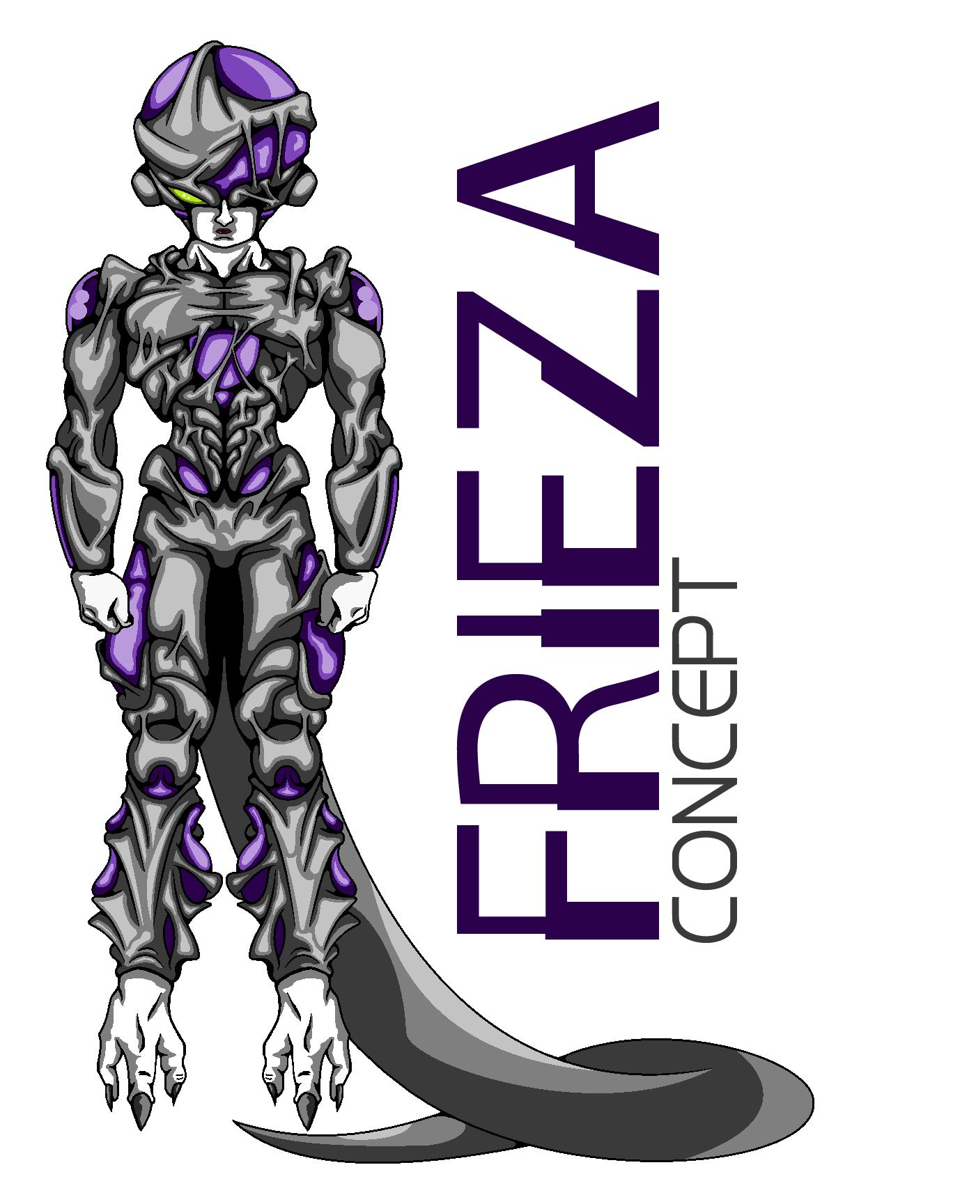 Frieza Concept (MS Paint)