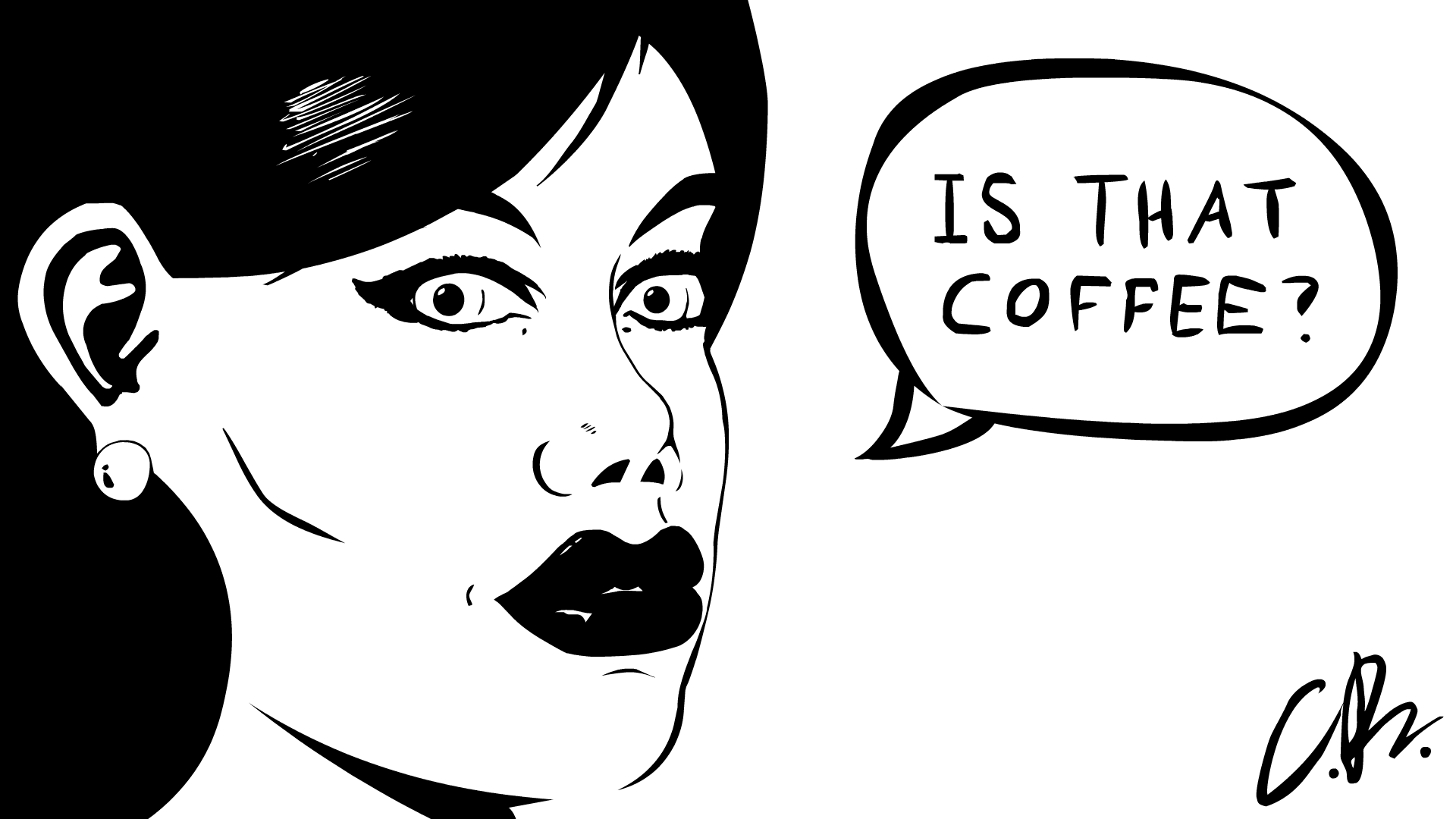 Is that coffee?