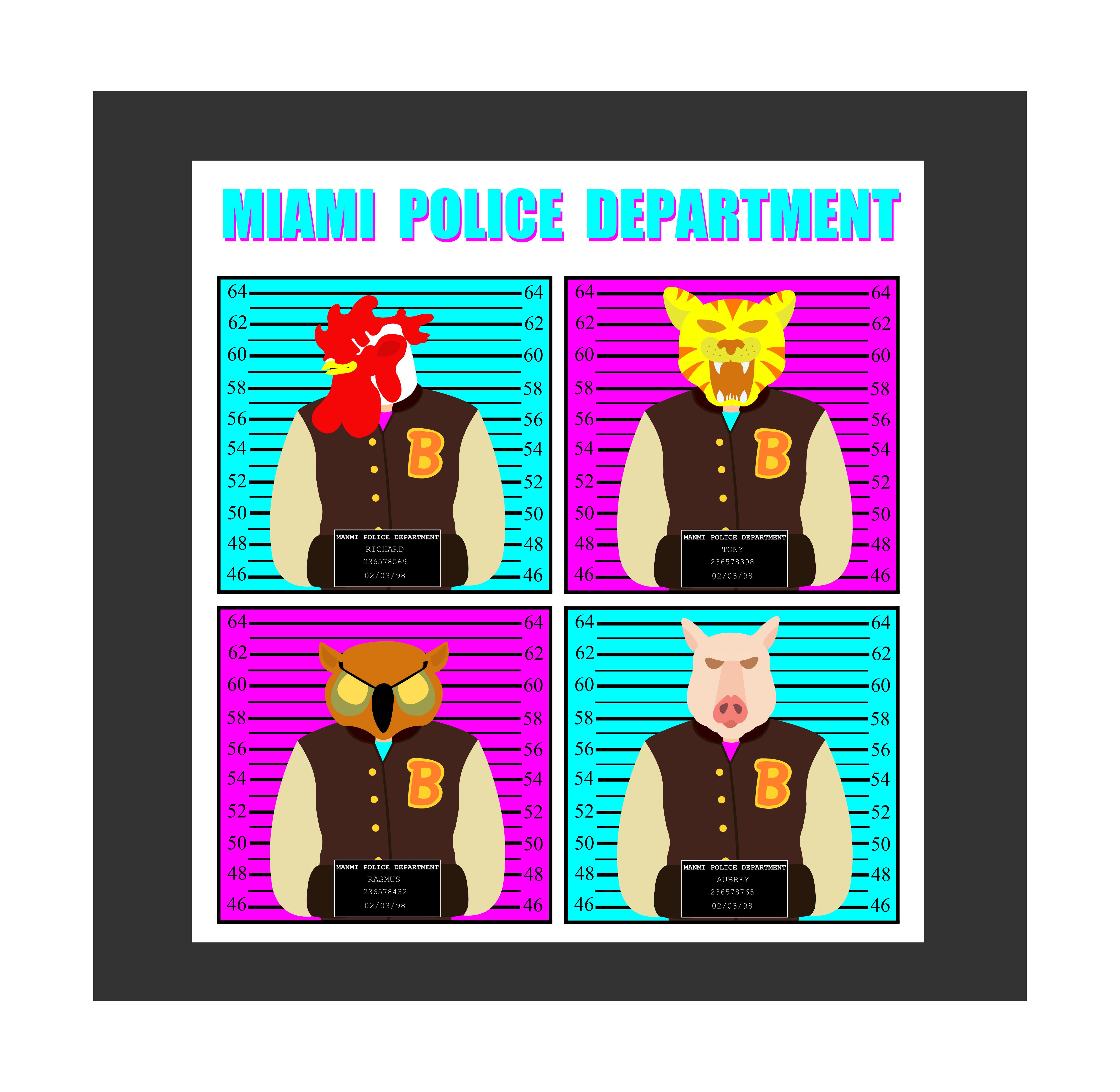 Miami Mug Shots