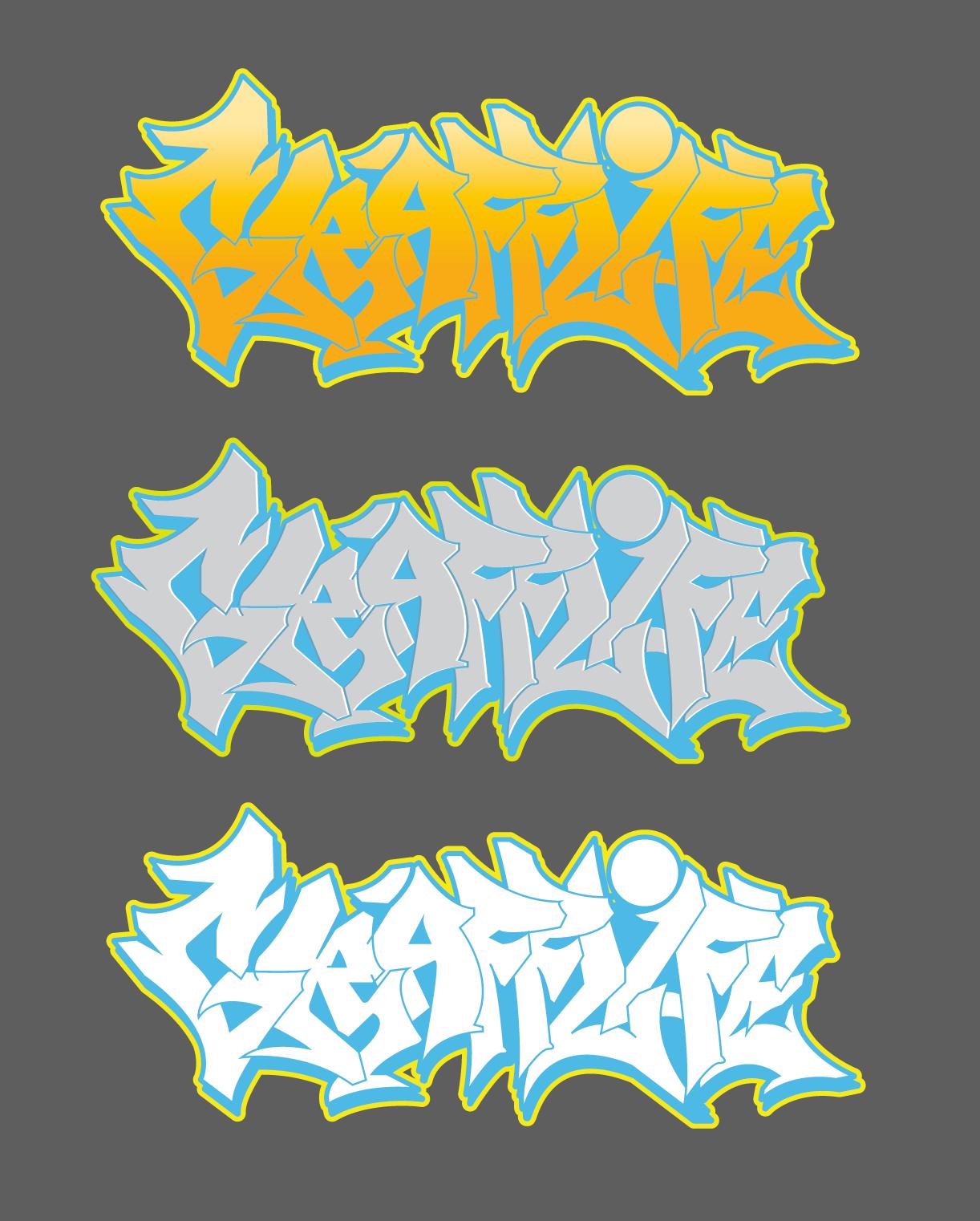 Graffiti is my life