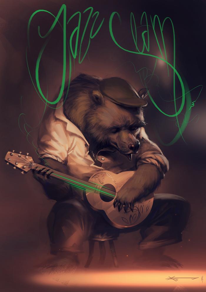 Jazz bear