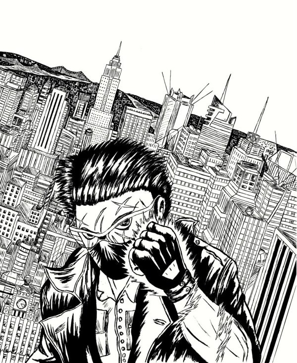 Trance cover inked