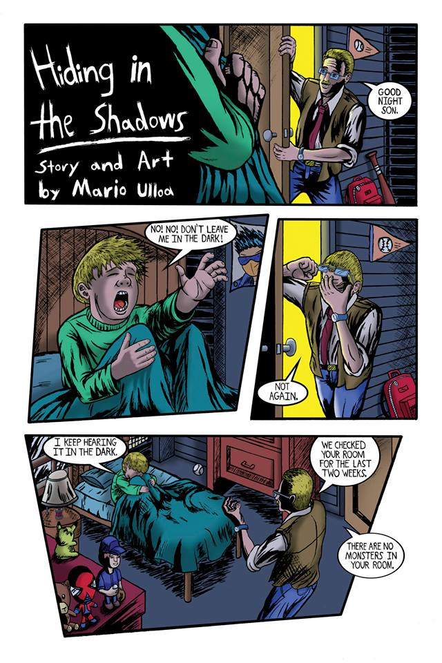 Hiding in the Shadows page 1