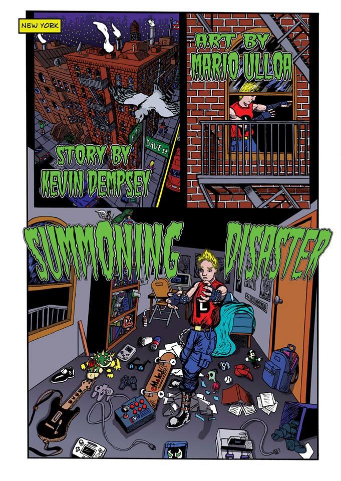 Summoning Disaster page 1