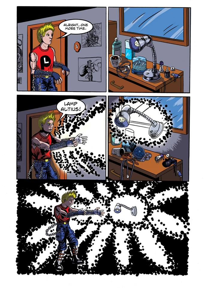 Summoning Disaster page 2