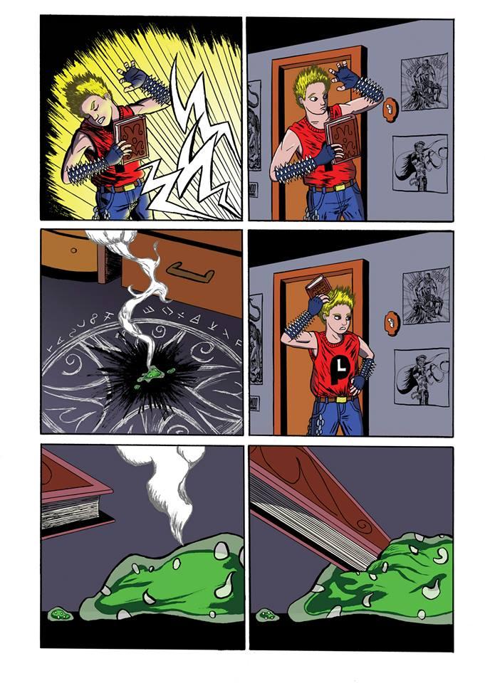 Summoning Disaster page 6