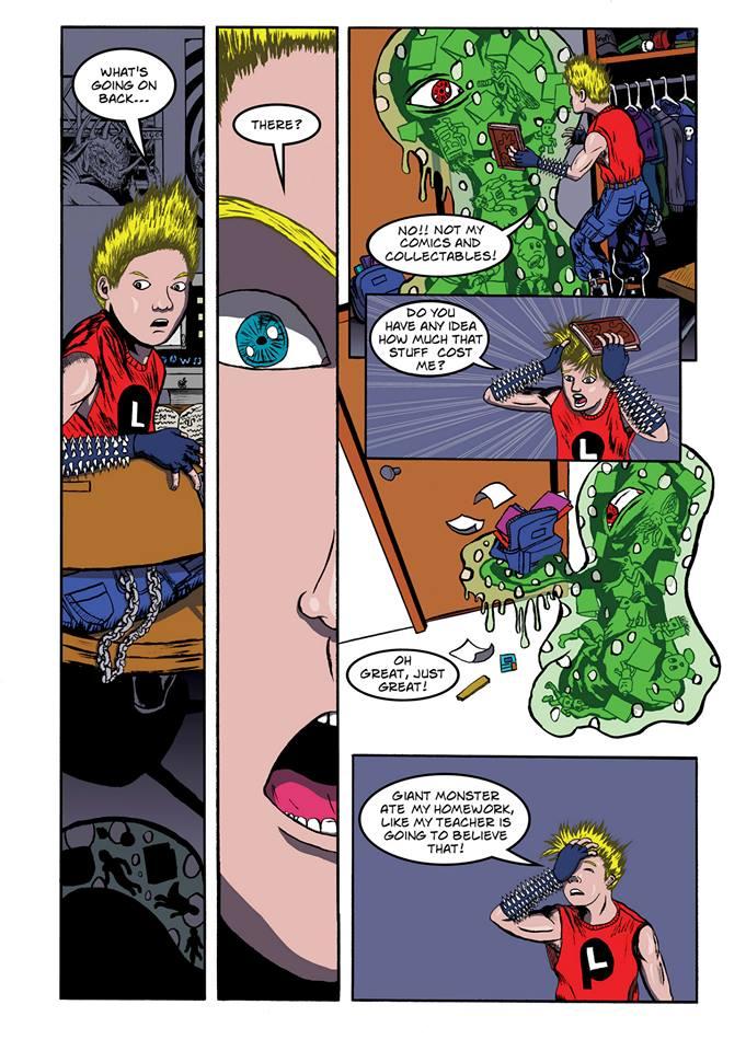 Summoning Disaster page 8