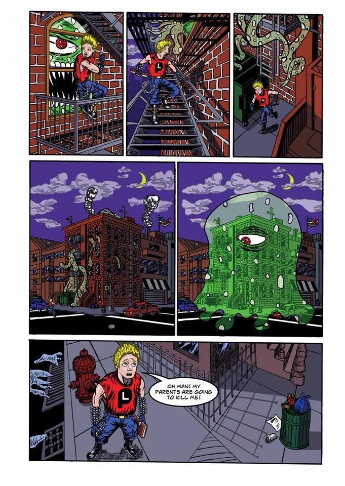 Summoning Disaster page 10