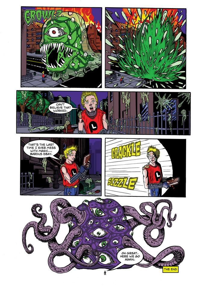 Summoning Disaster page 12