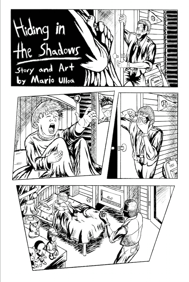 Hiding in the Shadows inked 1