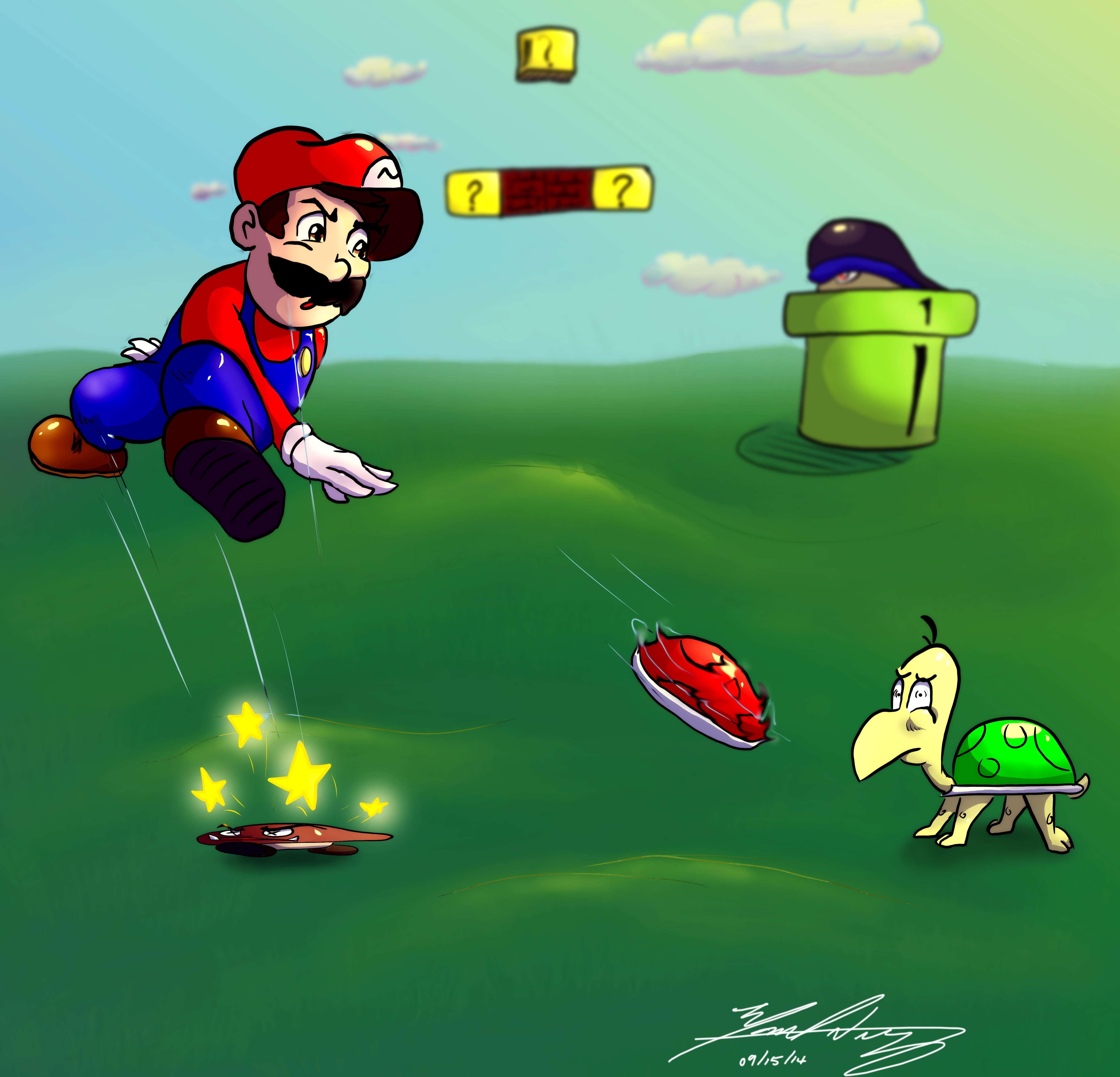 Mario - Fighting The Good Figh