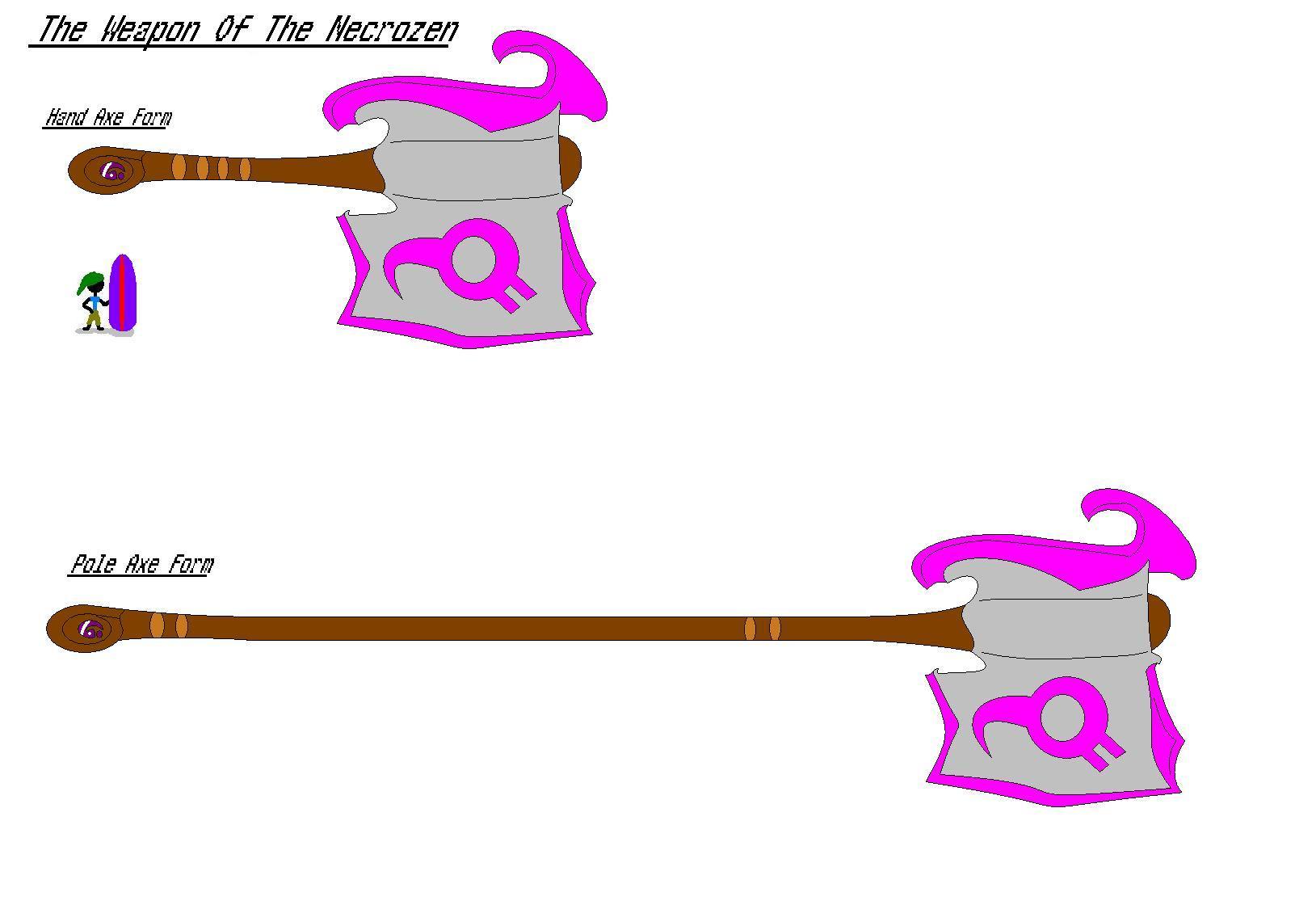 Necrozen Weapon of Choice