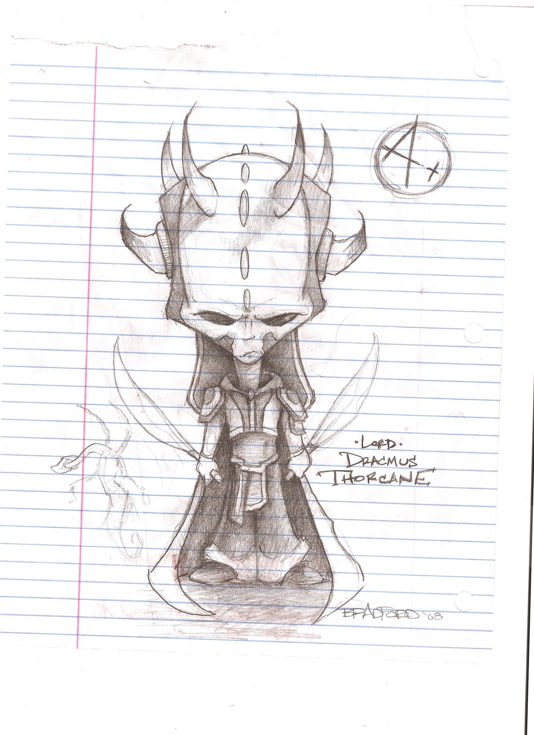Lord Dracmus Thorcane