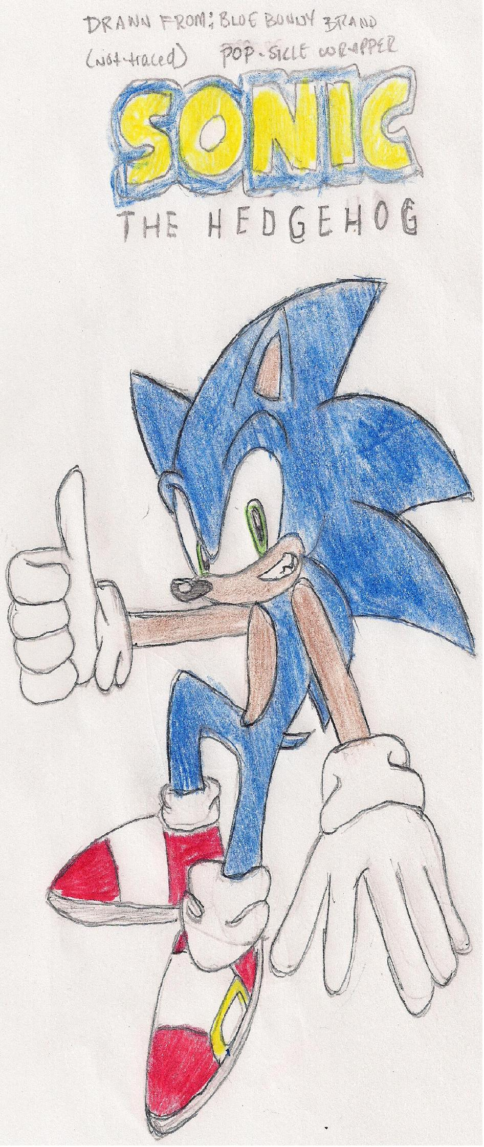 Blue Blur Sonic