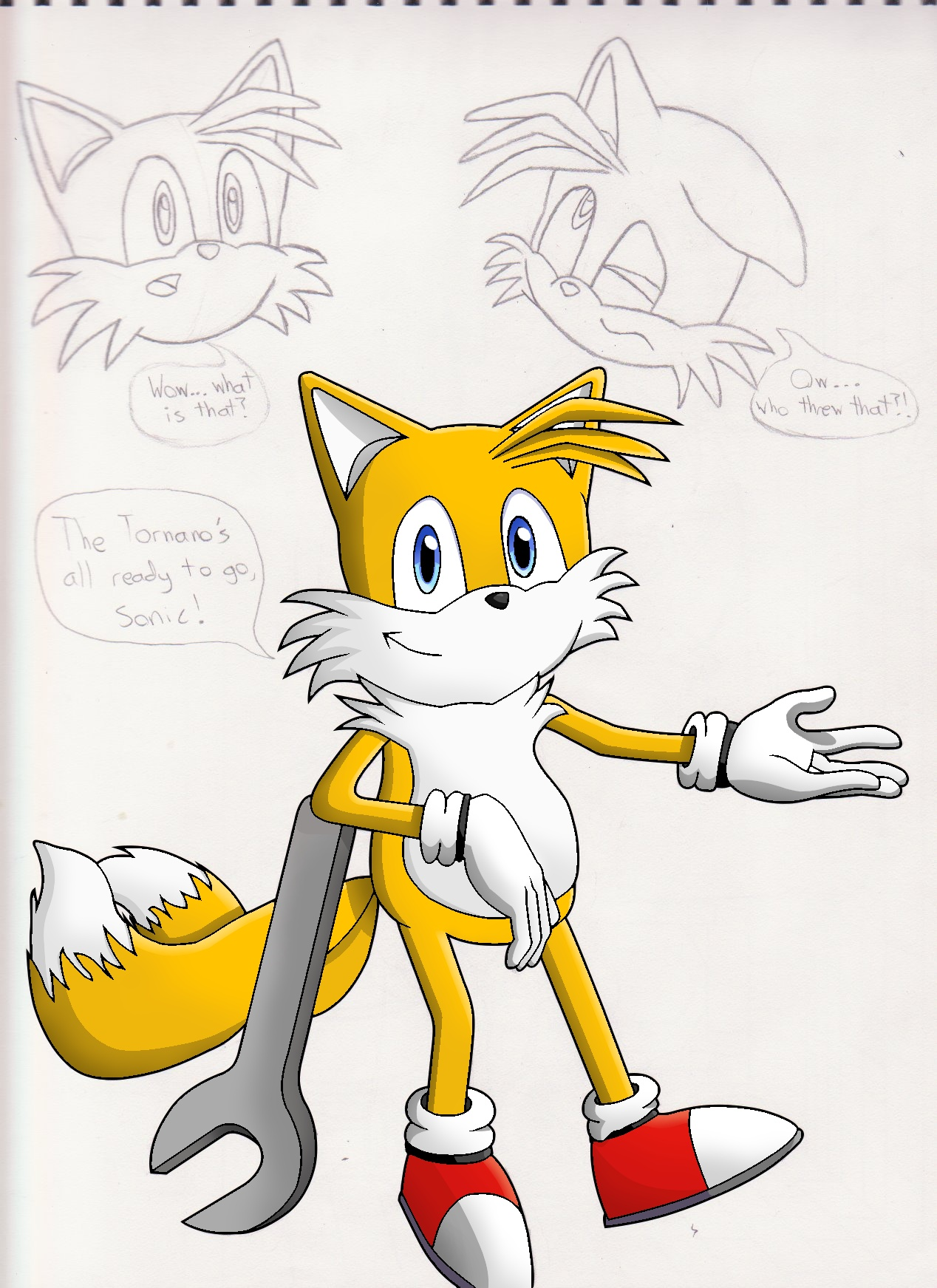 Tails Sketch