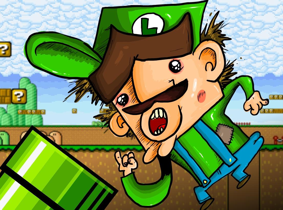 Luigi in Trouble