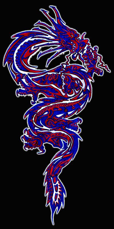 Oriental Dragon Tattoo