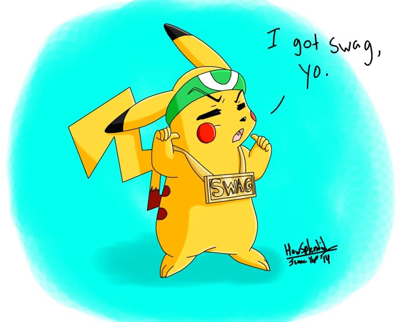 Swagalious pikachu Digital