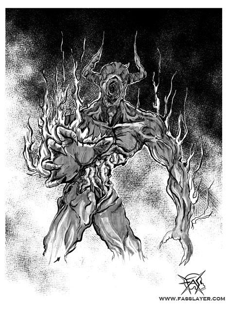 Black hole demon