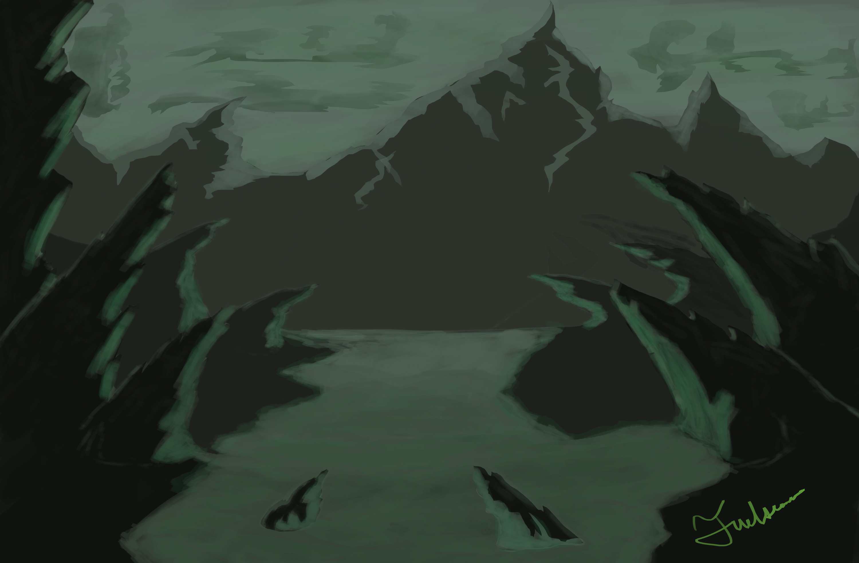 Mount Knoll Land of the Orcs