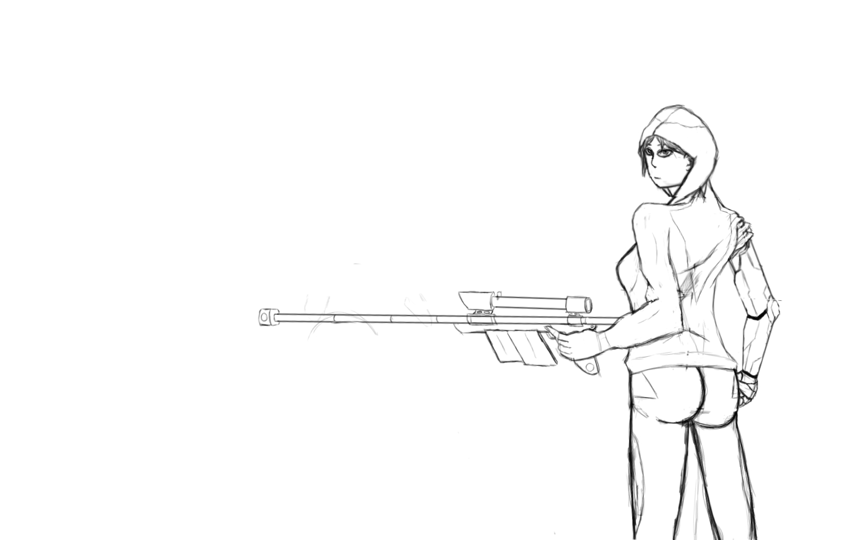 sketch annabel