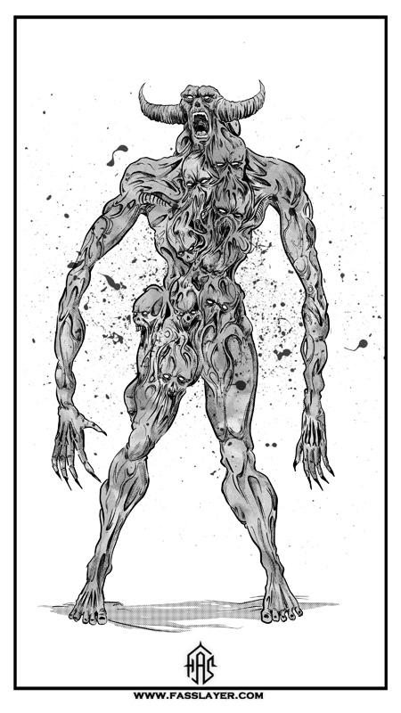 Zombie demon