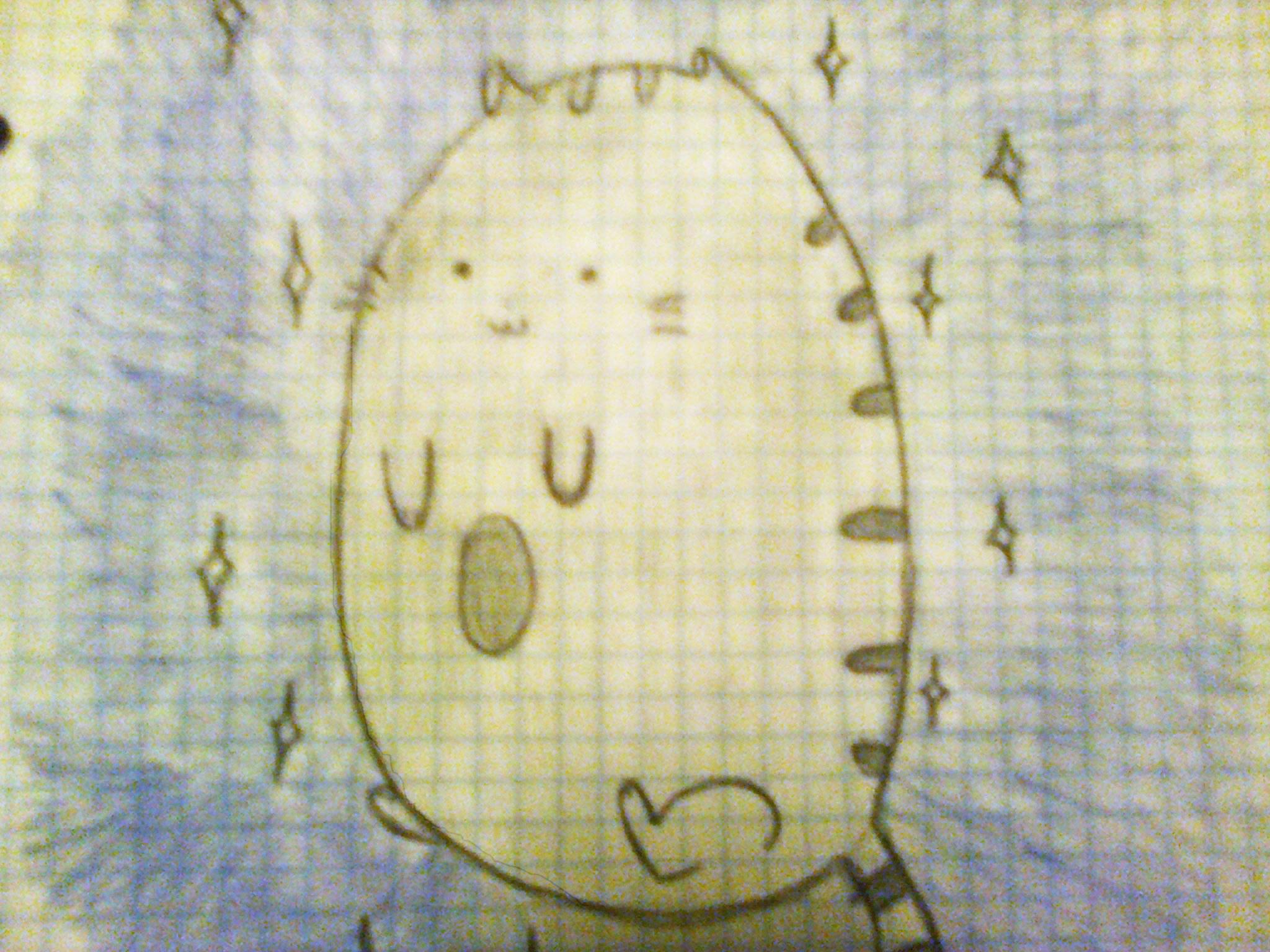 Kitten in space x3