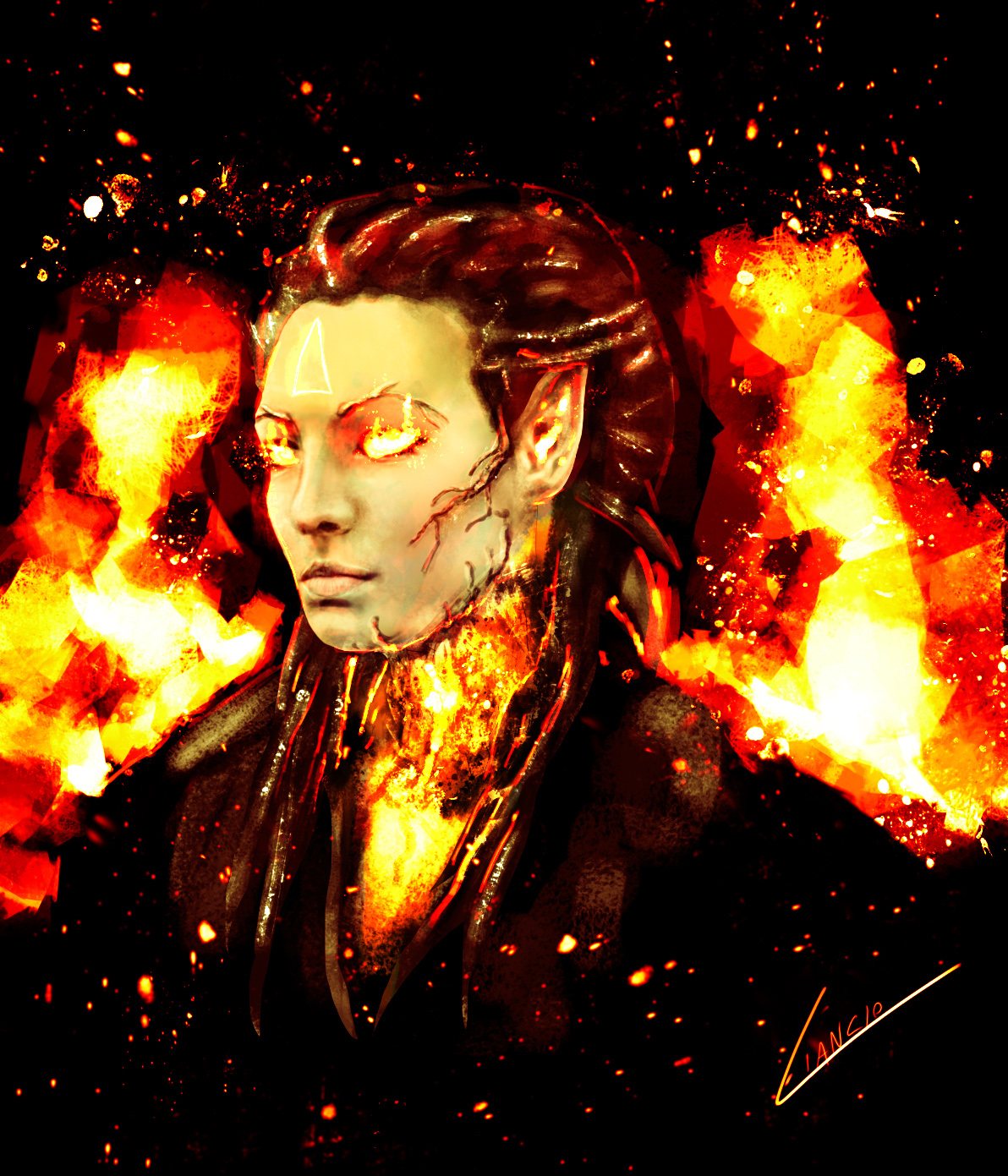 Avatar of Flame Gea