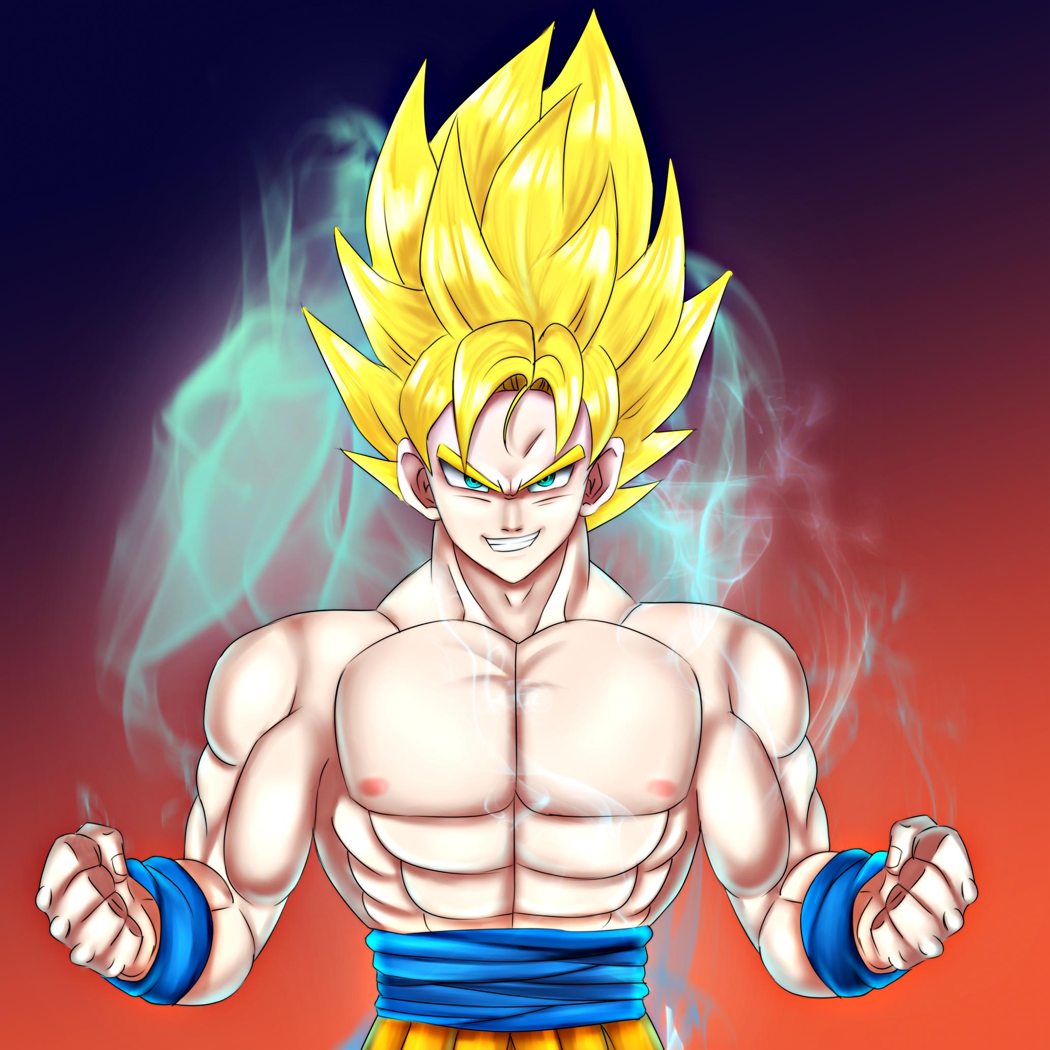 Son Goku Super Sayan