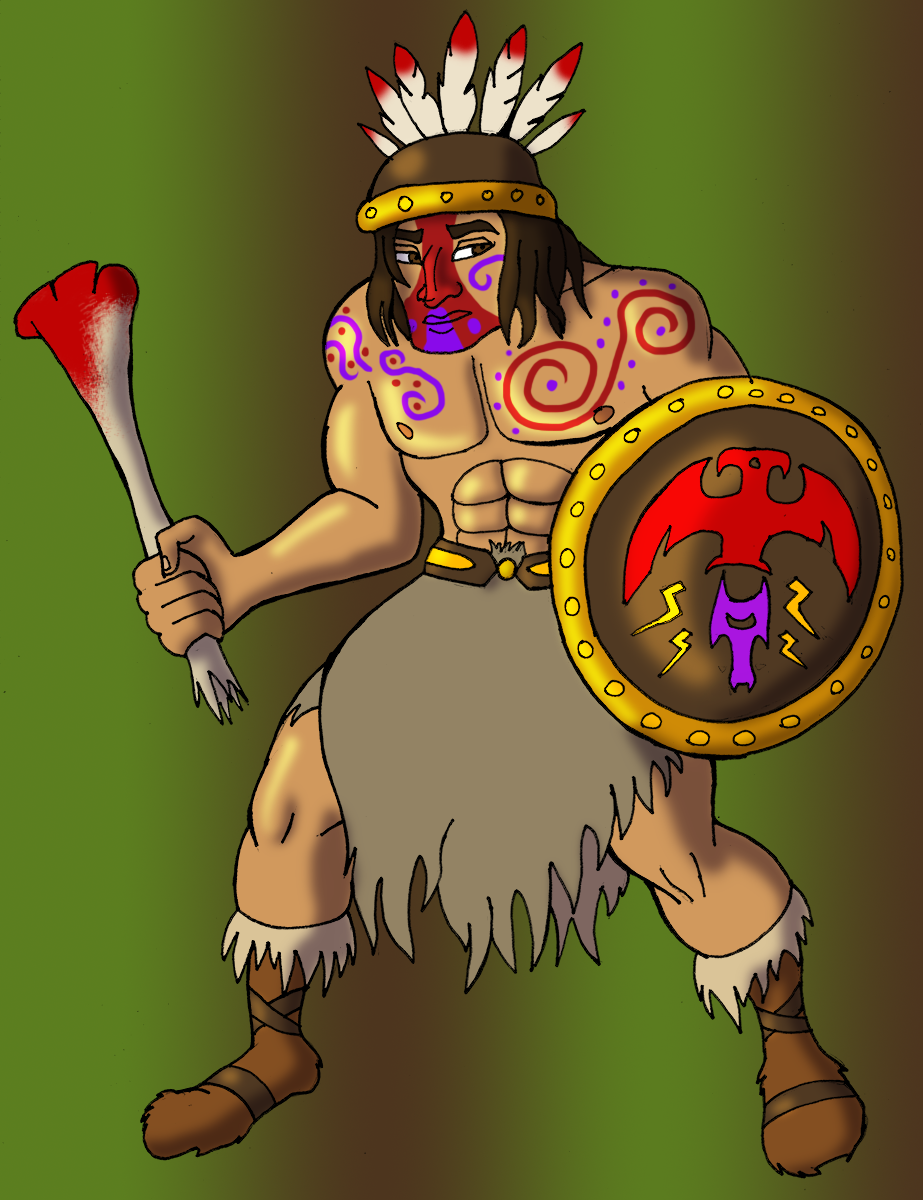 Early Roman Tribesman
