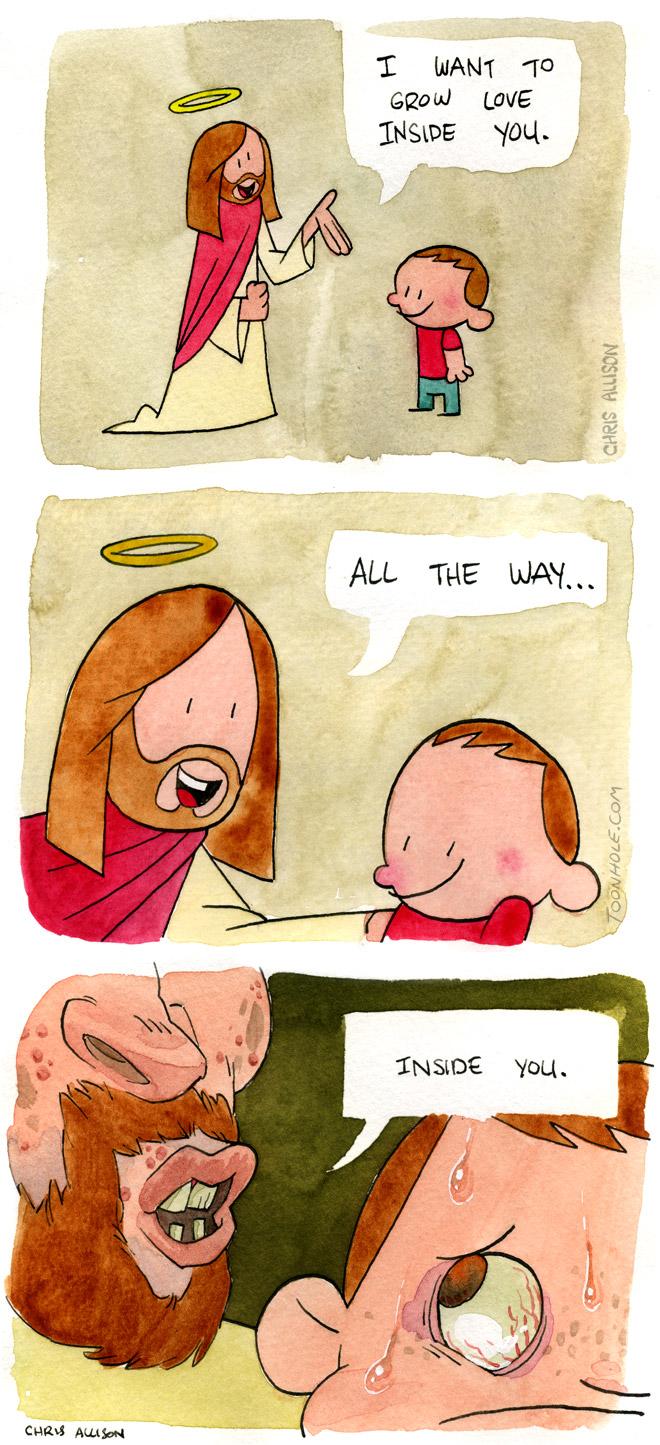 Jesus is love.