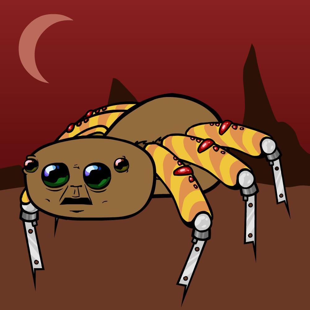 A spider thats also a robot