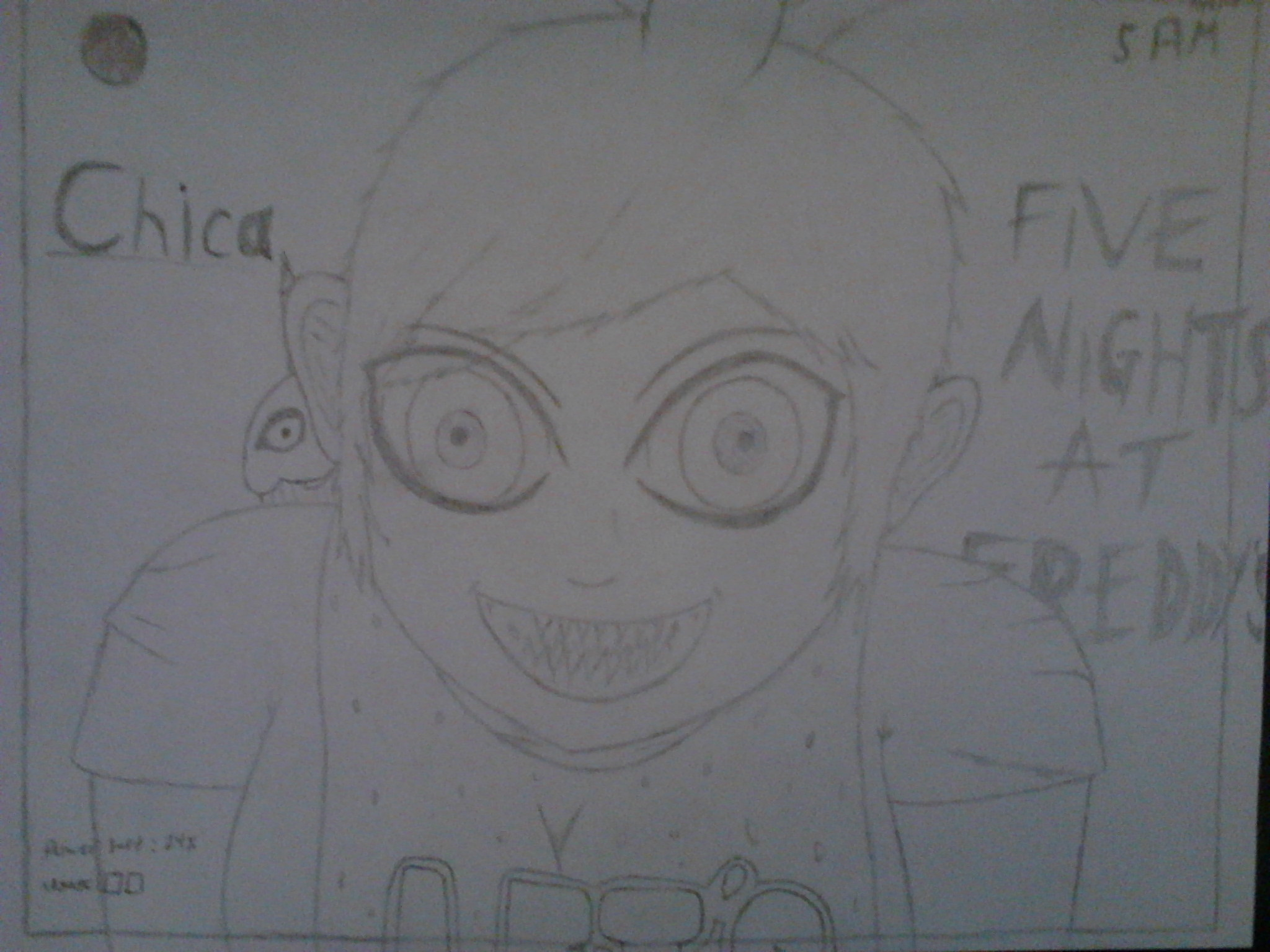 Chica The Chicken (Human)