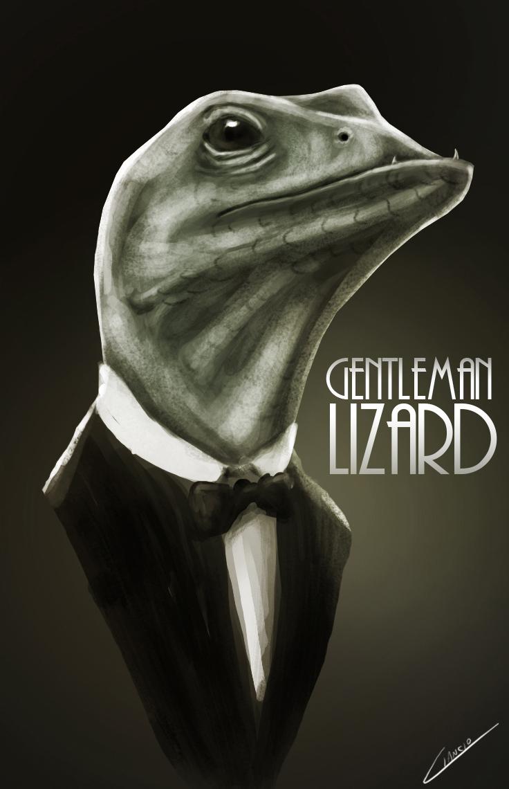 Gentleman Lizard