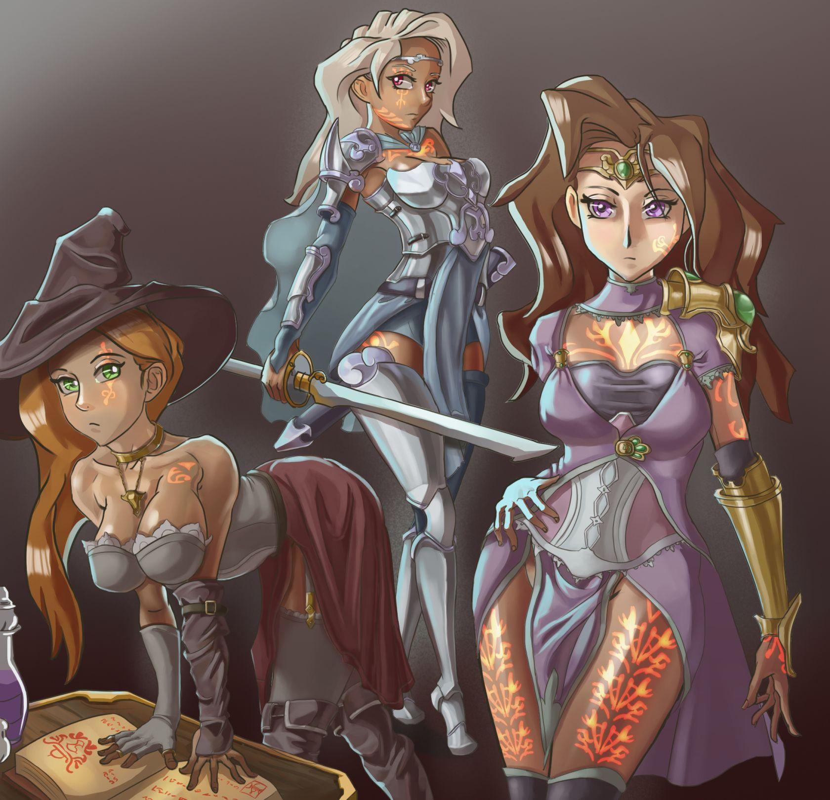The Sorceress Trio