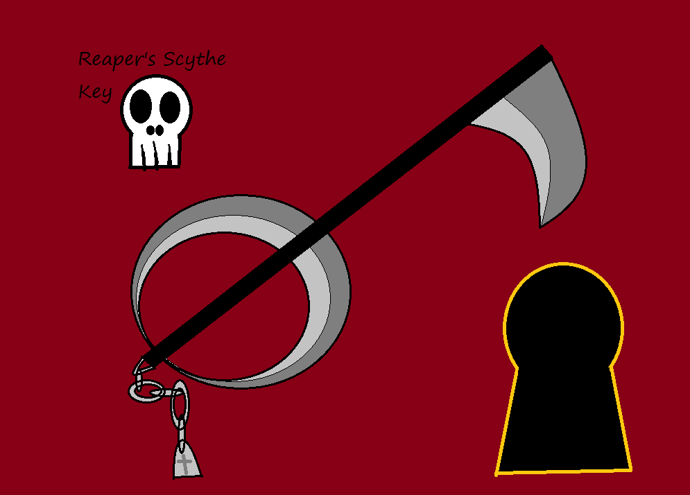 Reaper's scythe key
