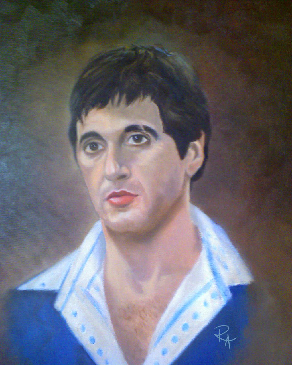 Antonio Montana Painting
