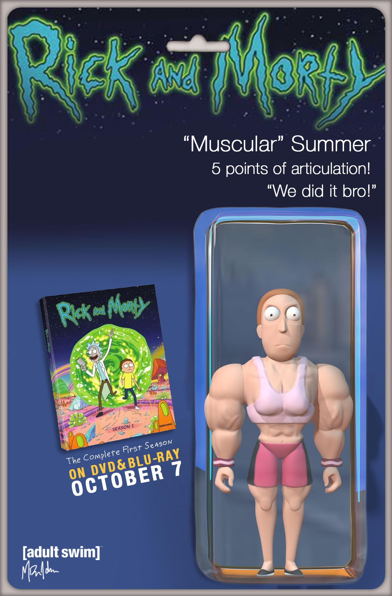 Muscular Summer Action Figure
