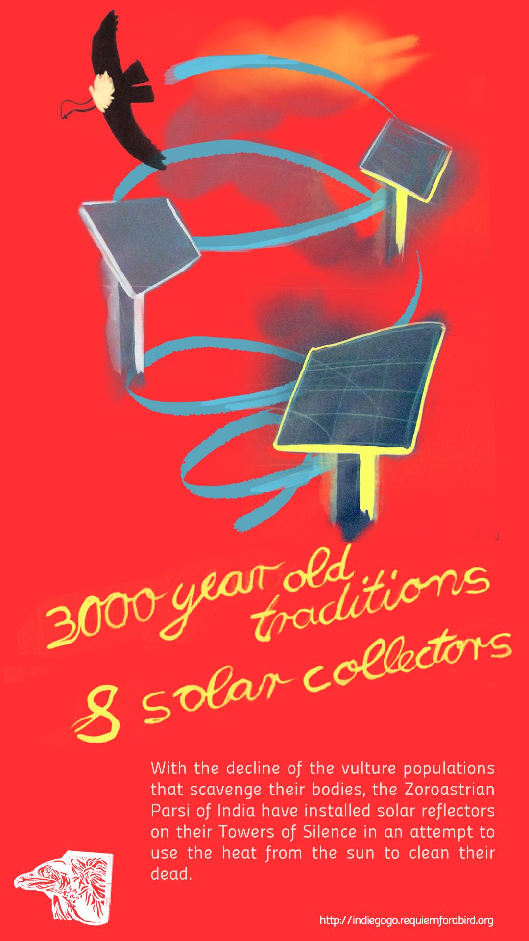 Ancient rites&solar collectors