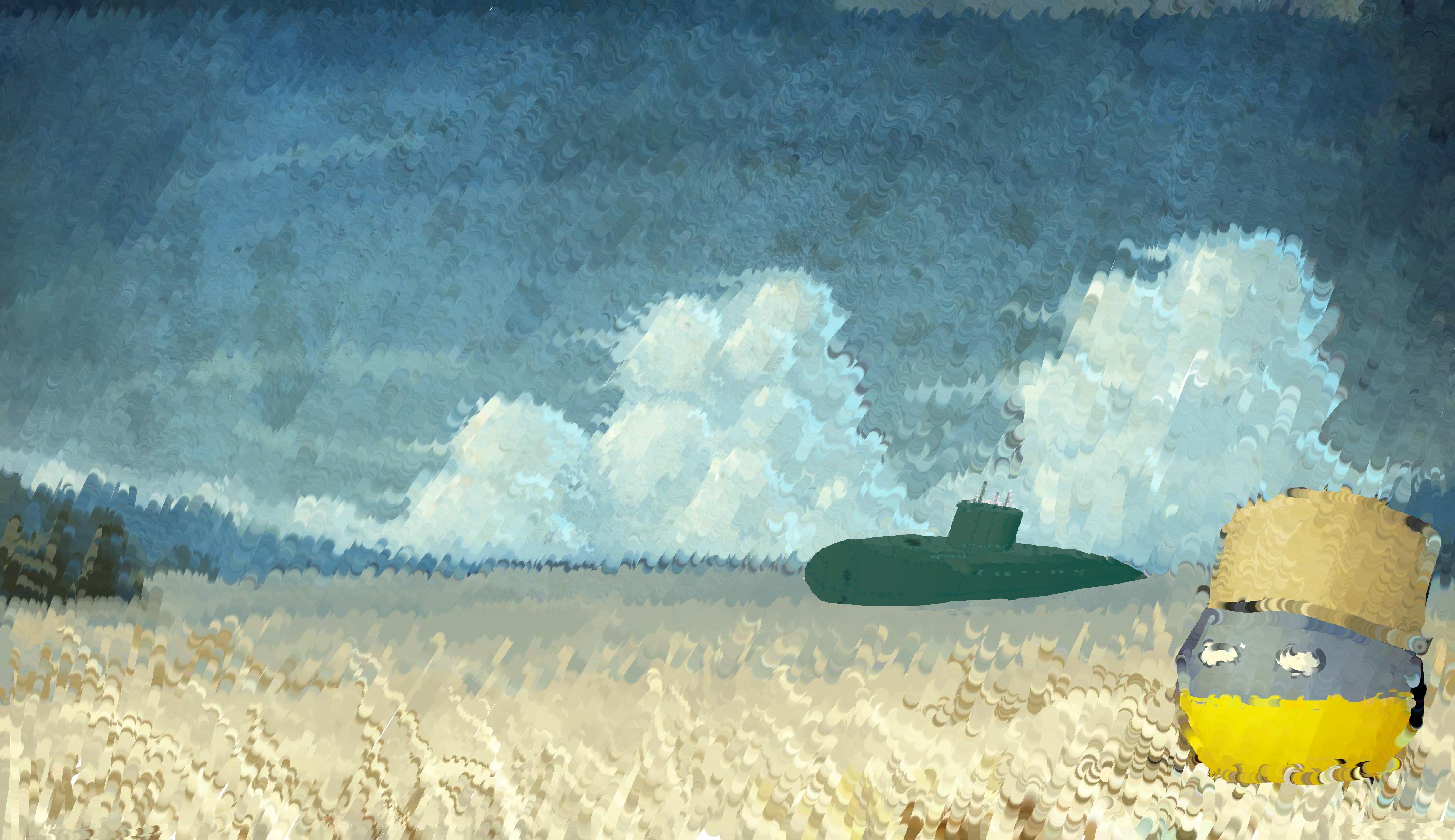 Submarine in the Ukraine