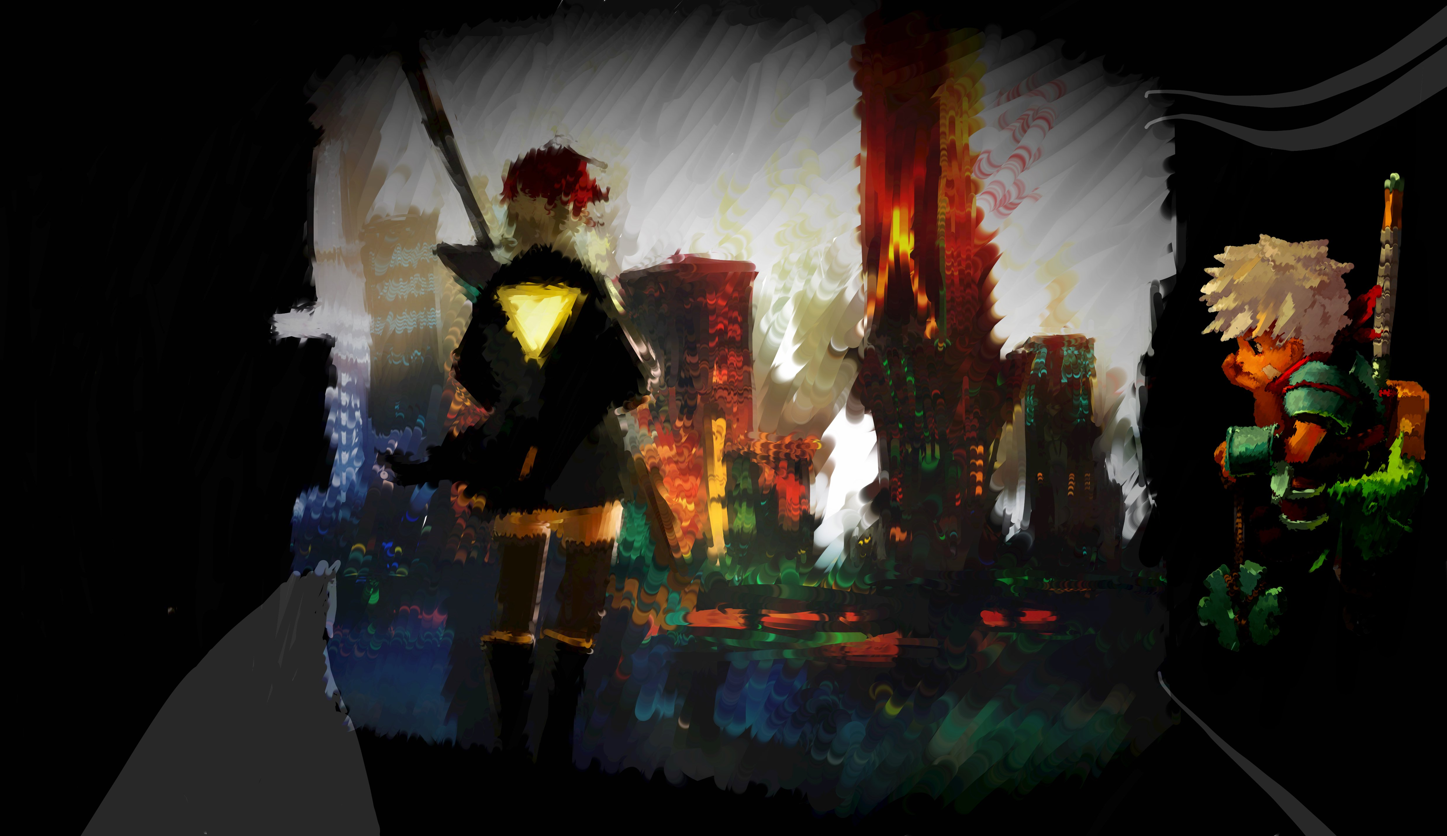 transistor how to begin new game