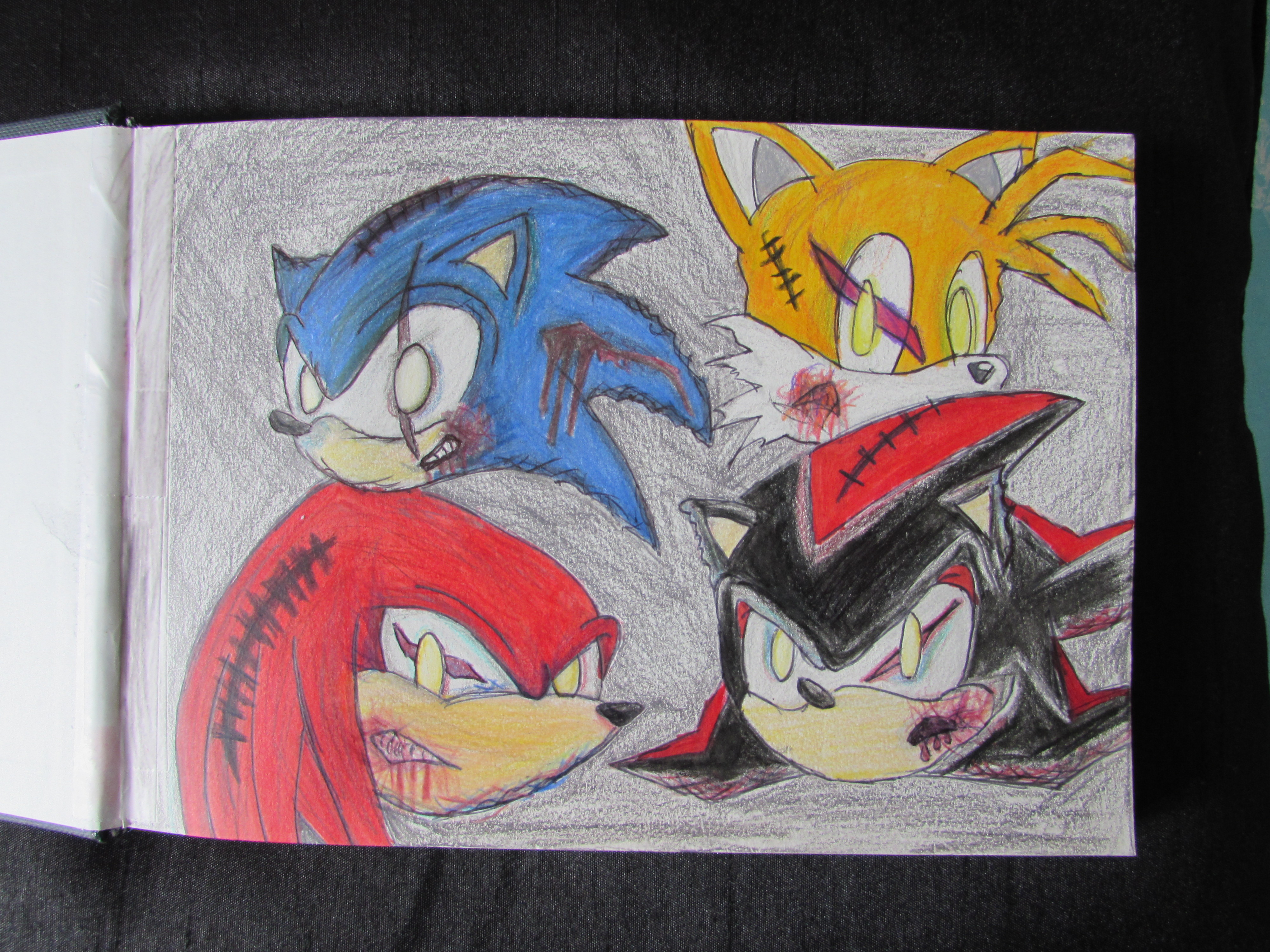 sonic madness by measaur on newgrounds