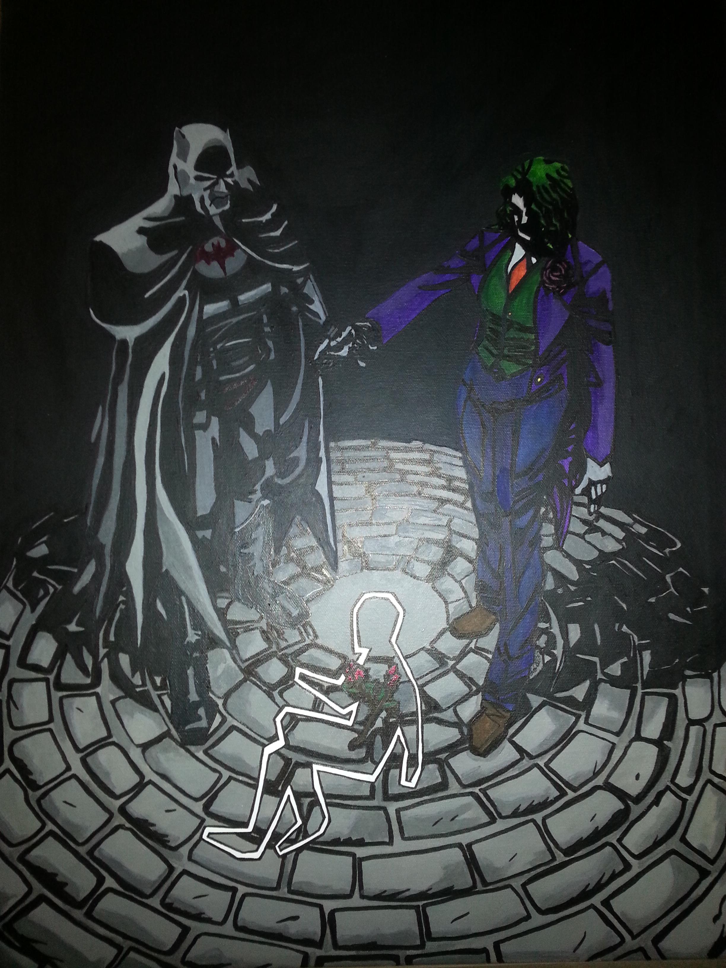 Batman and Joker Flashpoint