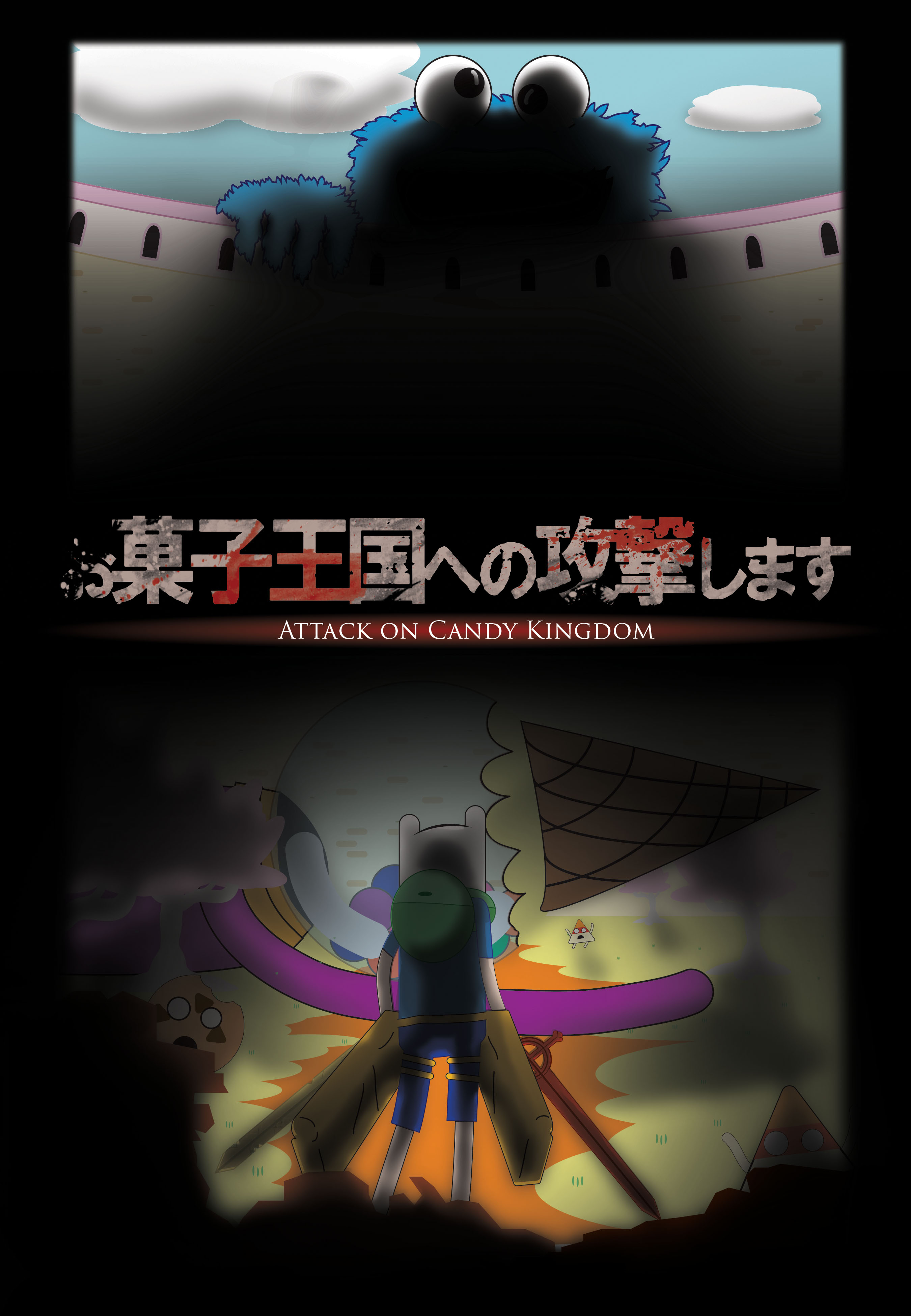 Attack on Candy kingdom