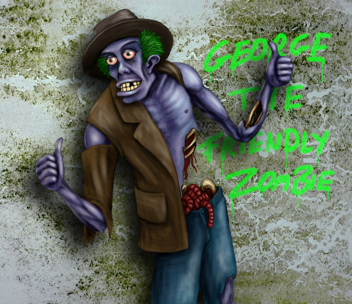 George the friendly zombie