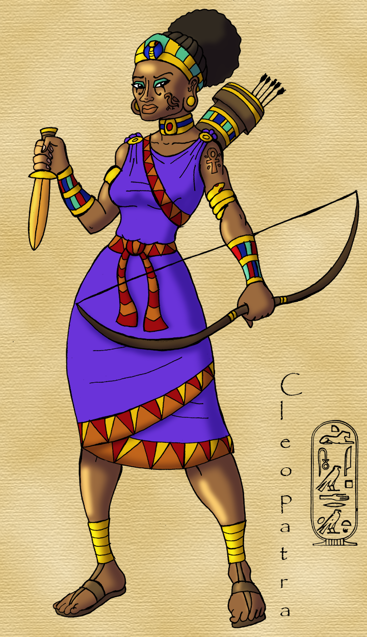 Cleopatra Concept Art