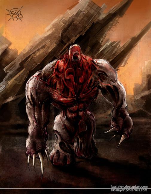 Titan monster